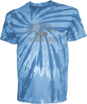 Cross County Primary School Kid Tie-dye T-Shirts