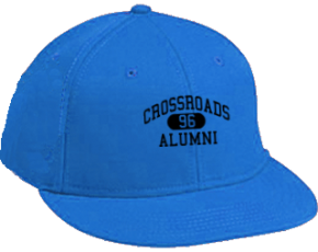 Crossroads Middle School Flat Visor Caps