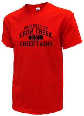 Crow Creek Middle School T-Shirts