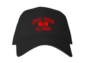 Crow Creek Middle School Embroidered Baseball Caps