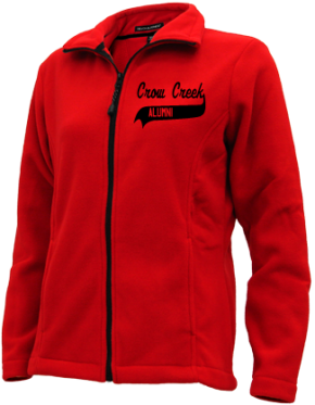 Crow Creek Middle School Embroidered Fleece Jackets