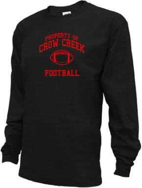 Crow Creek Middle School Kid Long Sleeve Shirts