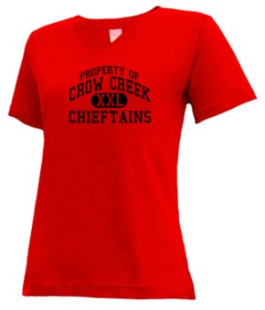 Crow Creek Middle School V-neck Shirts