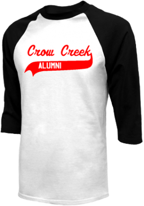 Crow Creek Middle School Raglan Shirts