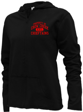 Crow Creek Middle School Girls Zipper Hoodies