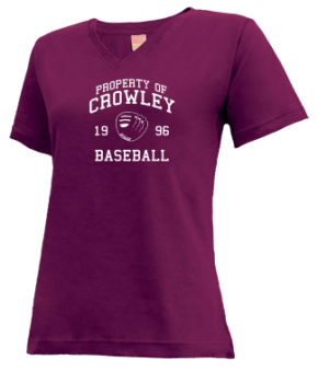 Crowley High School V-neck Shirts