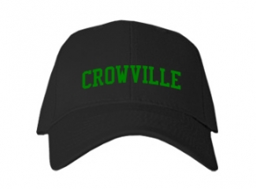 Crowville High School Kid Embroidered Baseball Caps