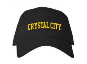 Crystal City High School Kid Embroidered Baseball Caps