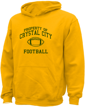 Crystal City High School Kid Hooded Sweatshirts