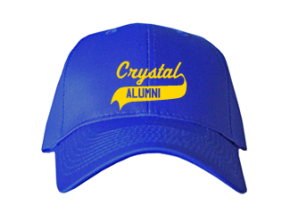 Crystal Elementary School Embroidered Baseball Caps