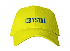 Crystal Elementary School Kid Embroidered Baseball Caps