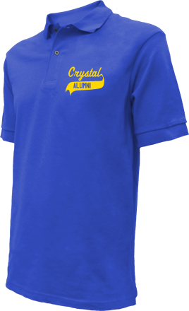 Crystal Elementary School Embroidered Polo Shirts