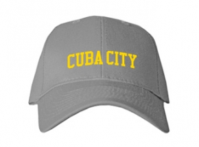 Cuba City High School Kid Embroidered Baseball Caps
