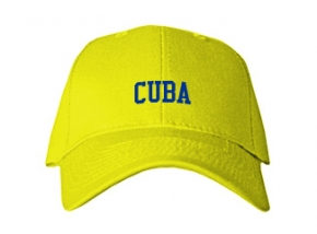Cuba Elementary School Kid Embroidered Baseball Caps