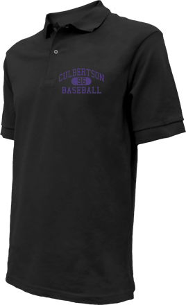 Culbertson High School Embroidered Polo Shirts