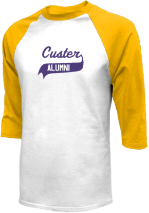 Custer Elementary School Raglan Shirts