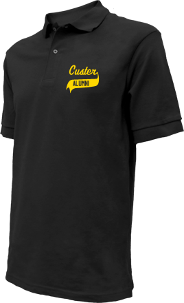 Custer Elementary School Embroidered Polo Shirts