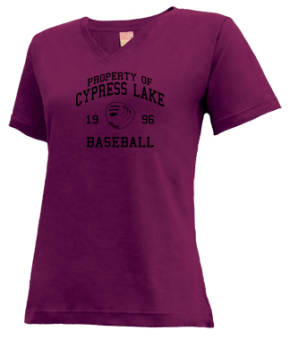 Cypress Lake High School V-neck Shirts