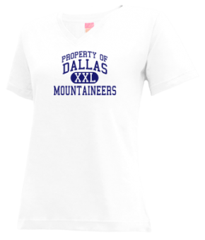 Dallas Elementary School V-neck Shirts