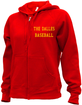 The Dalles High School Zip-up Hoodies