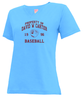 David W Carter High School V-neck Shirts