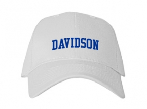 Davidson High School Kid Embroidered Baseball Caps