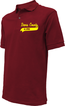 Davis County High School Embroidered Polo Shirts