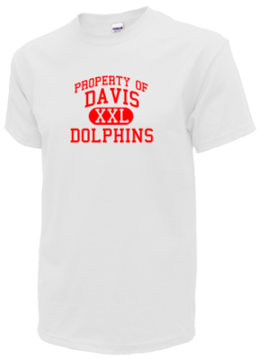 Davis elementary school dolphins apparel store for Custom t shirts montgomery al