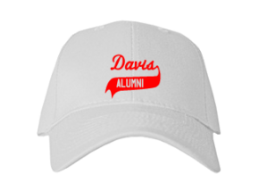 Davis Junior High School Embroidered Baseball Caps