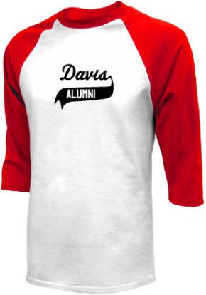 Davis Junior High School Raglan Shirts