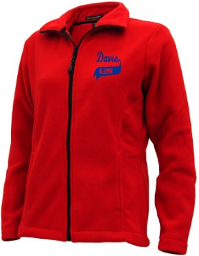 Davis Middle School Embroidered Fleece Jackets