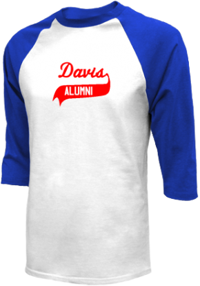 Davis Middle School Raglan Shirts