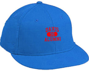 Davis Middle School Flat Visor Caps