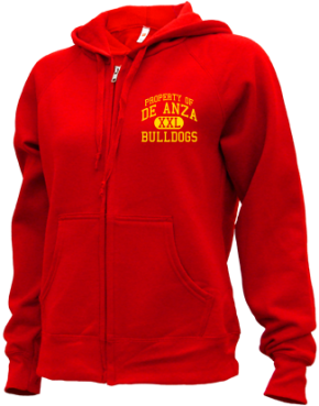 De Anza Junior High School Zip-up Hoodies