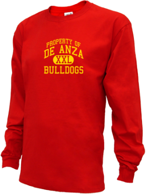 De Anza Junior High School Kid Long Sleeve Shirts