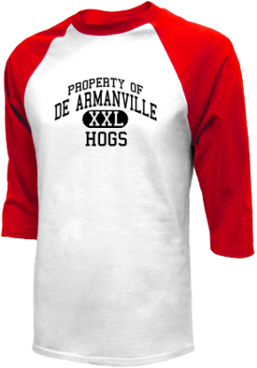 De Armanville Junior High School Raglan Shirts