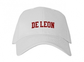 De Leon High School Kid Embroidered Baseball Caps