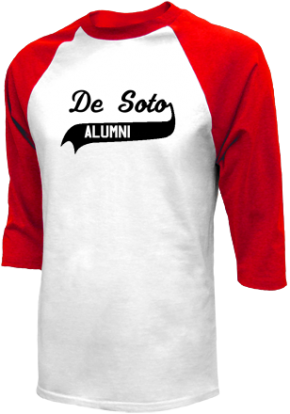 De Soto Middle School Raglan Shirts