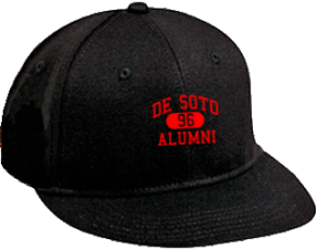 De Soto Middle School Flat Visor Caps
