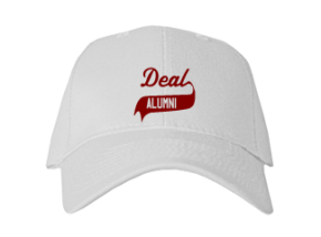 Deal Elementary School Embroidered Baseball Caps