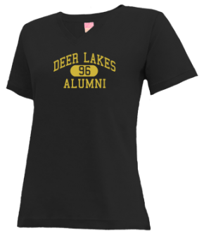 Deer Lakes High School V-neck Shirts