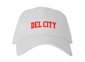 Del City High School Kid Embroidered Baseball Caps
