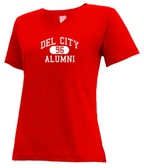 Del City High School V-neck Shirts