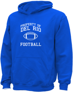 Del Rio Middle School Kid Hooded Sweatshirts