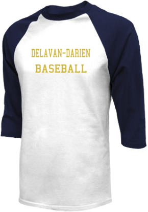 Delavan-darien High School Raglan Shirts