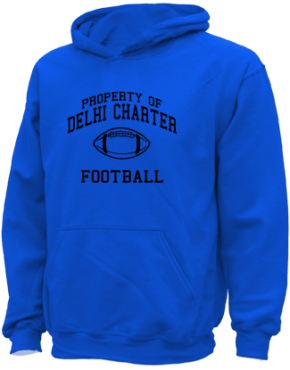 Delhi Charter School Kid Hooded Sweatshirts