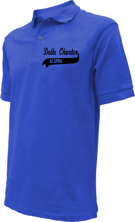 Delhi Charter School Embroidered Polo Shirts