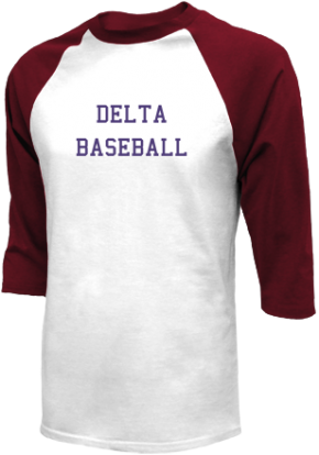 Delta High School Raglan Shirts