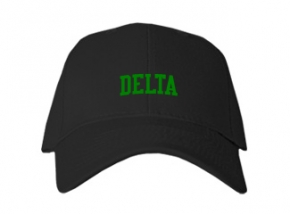 Delta High School Kid Embroidered Baseball Caps