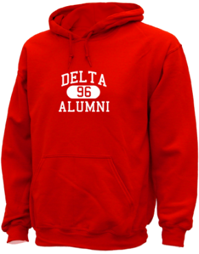Delta High School Hoodies